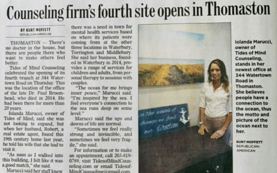 Counseling Firm's Fourth Site Opens in Thomaston